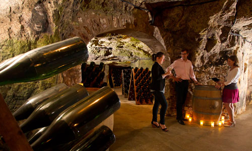 Visit Champagne house with a guide - visit France