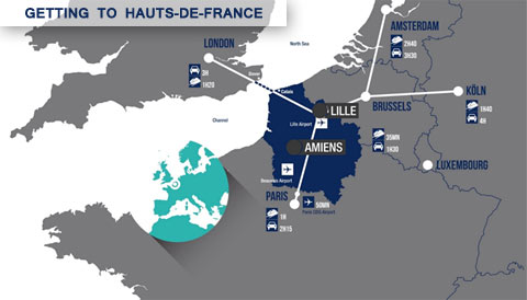 Getting to Hauts-de-France