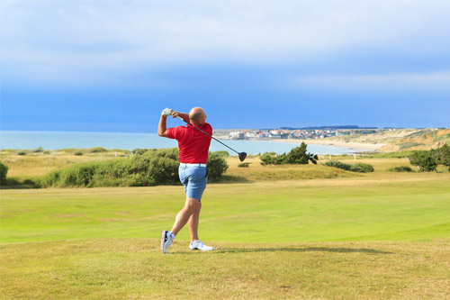 Golf courses in Northern France - Wimereux golf - French Weekend Breaks