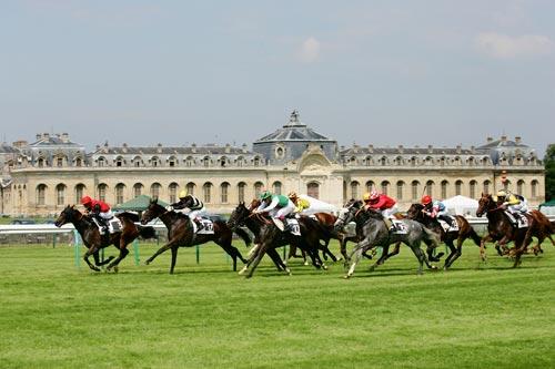 The famous Prix de Diane Racecourse- Visit France