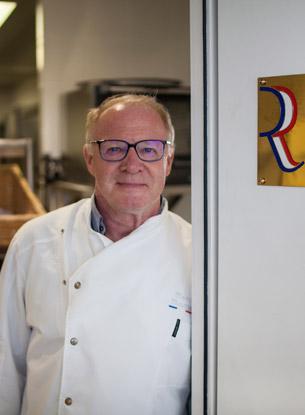 Two-Michelin-starred chef Marc Meurin.