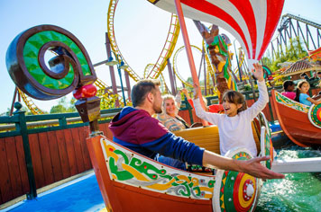 Theme parks in Northern France - Asterix theme Park - French Weekend Breaks
