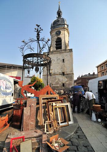 French antique markets - Amiens, flea market - French Weekend Breaks