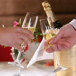 champagne to feast Valentine's break in Northern France