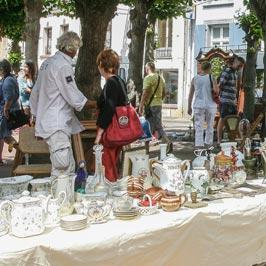 The Best Flea Markets and brocantes in Hauts Northern France: Calais, Montreuil sur mer - visit France