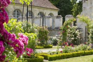 Garden of L'Abbaye de Chaalis
