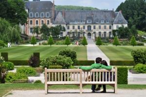 Jardins de Valloires Rose of Picardy Somme bay