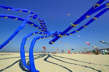 Major Event - The International Kite Festival in Berck-sur-Mer in Northern France - visit France