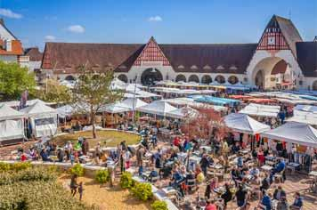 Le Touquet market - French Weekend Breaks