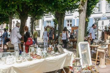 Montreuil-sur-Mer Flea Market - French weekend breaks