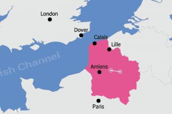 Map Of France North.France Driving Holidays Visit Northern France