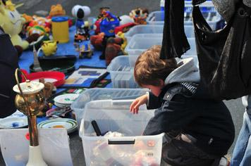 Montreuil-sur-Mer Flea Market with Kids - French weekend breaks
