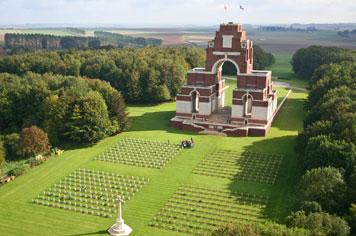 Thiepval Memorial to the Missing Commemorations - French weekend breaks
