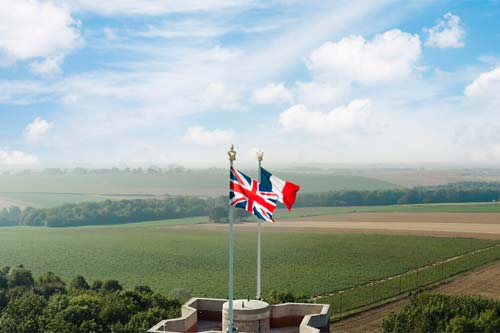 Thiepval Memorial - French weekend breaks