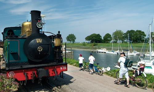 The Baie de Somme by Bike and Steam Train - visit France